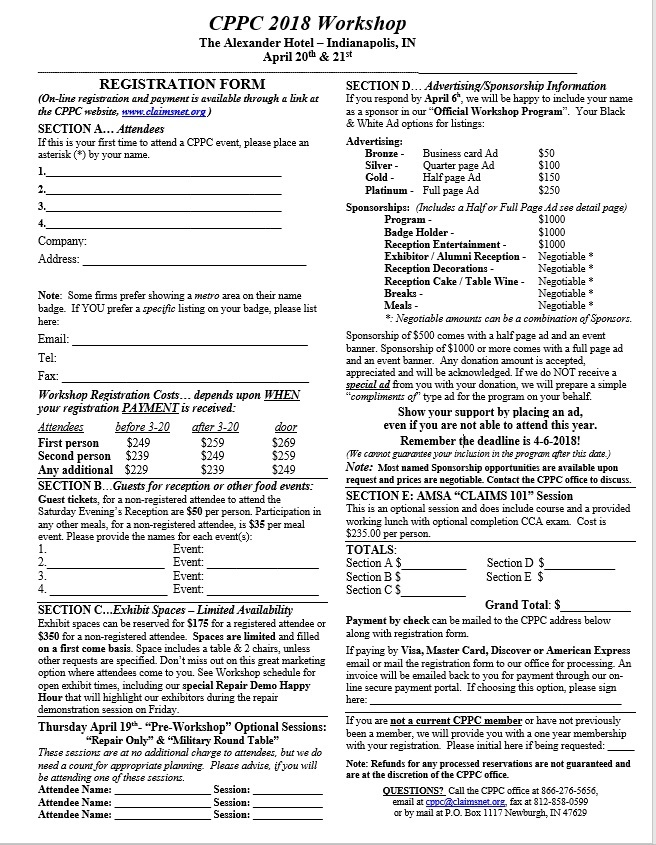 web registration page 2