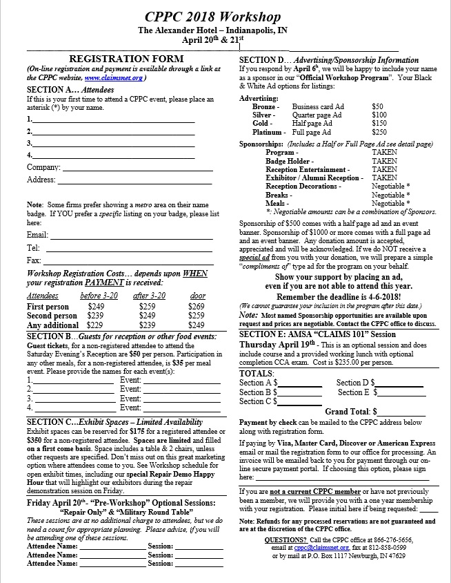 web registration page 4